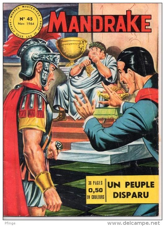 Mandrake-Mondes Mystérieux N°45, 1964 - Mandrake