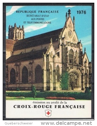 C 8 - CARNET CROIX-ROUGE 1976 Neuf** 1er Choix - Markenheftchen