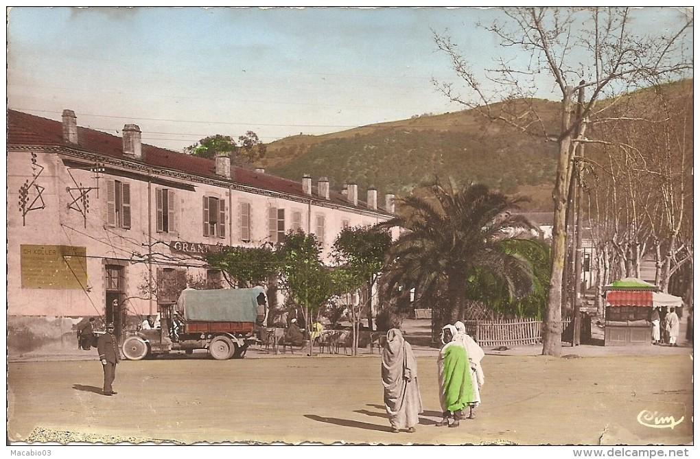 Tizi Ouzou - ALGERIE   :    Tizi-Ouzou    grand hôtel  Koller           réf  1336
