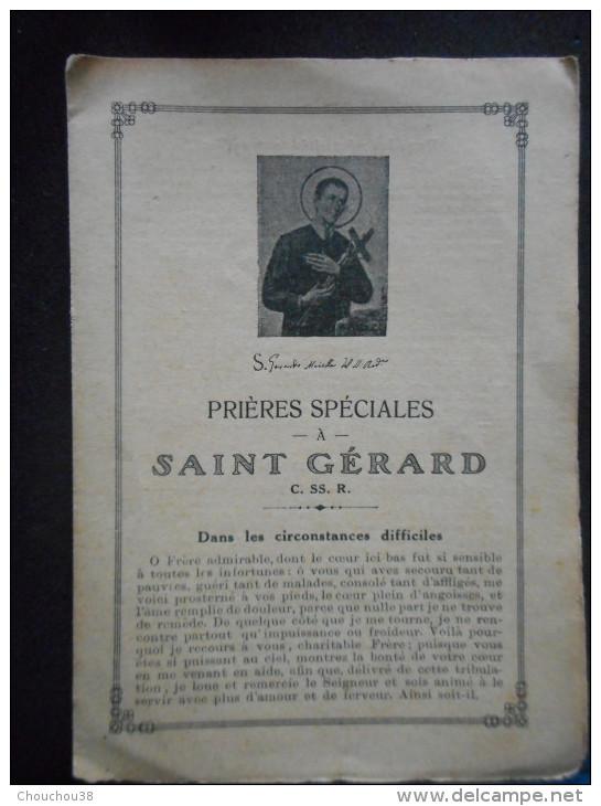 Livret De PRIERES SPECIALES à SAINT GERARD -dans Les Circonstances Difficiles- - Religion & Esotericism