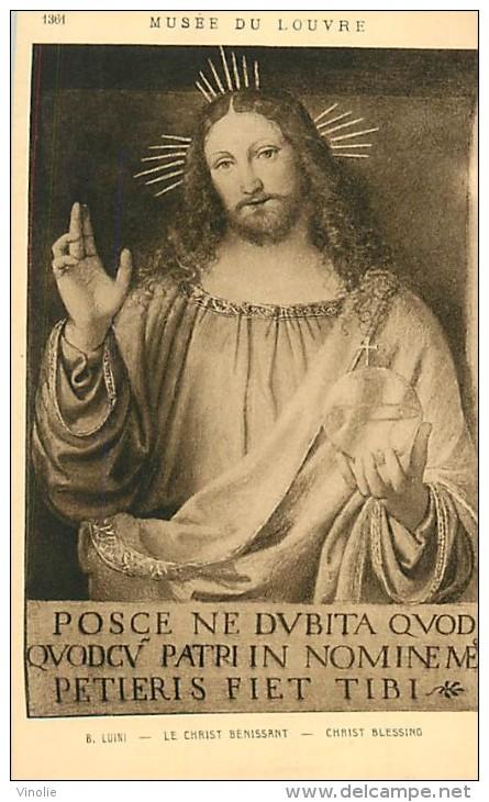 A-16 4252 : MUSEE DU LOUVRE  LE CHRIST BENISSANT - Arts