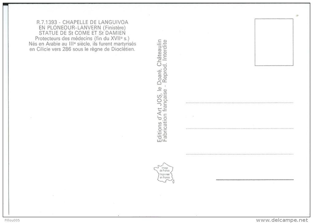 29 PLONEOUR- LANVERN ( FINISTERE ).. LANGUIVOA...SAINT CÔME ET SAINT DAMIEN...D5014 - Autres Communes