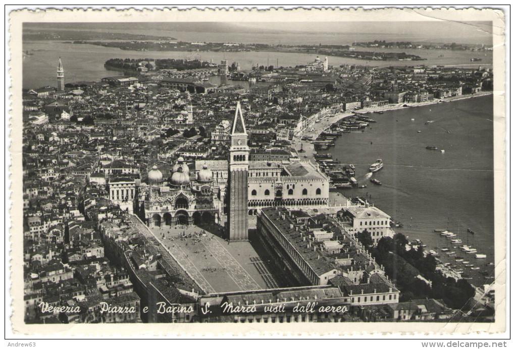 ITALIA - ITALY - ITALIE - 1952 - 10 Lire Lavoro + Timbre Taxe 5F - Tax Postage Due + Flamme Visitate La Fiera Interna... - Venezia