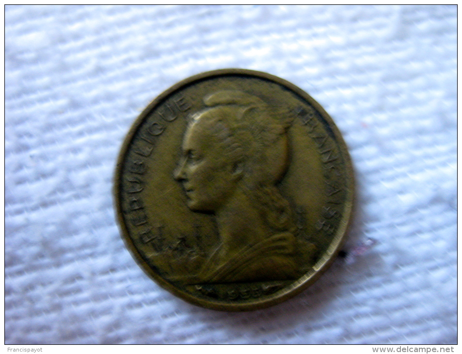 France: La Réunion 10 Francs 1955 - Réunion