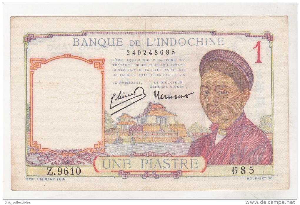 Indochina 1 Piastre (1949) - Indochine