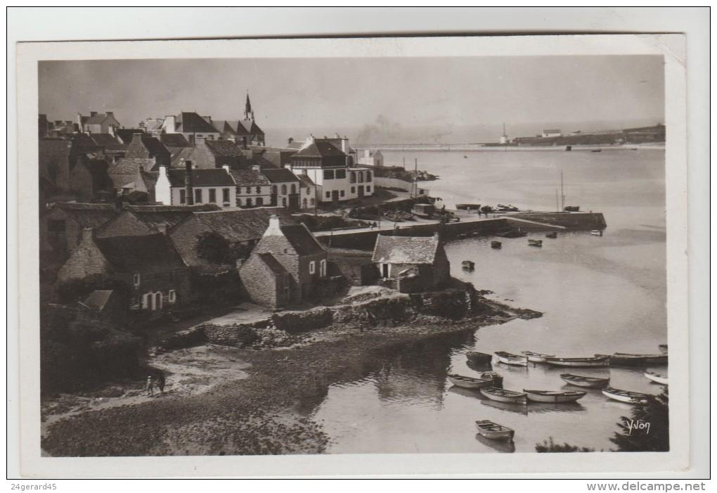 CPSM AUDIERNE (Finistère) - Le Village De Poulgoazec Et L'embouchure Du Goren - Audierne