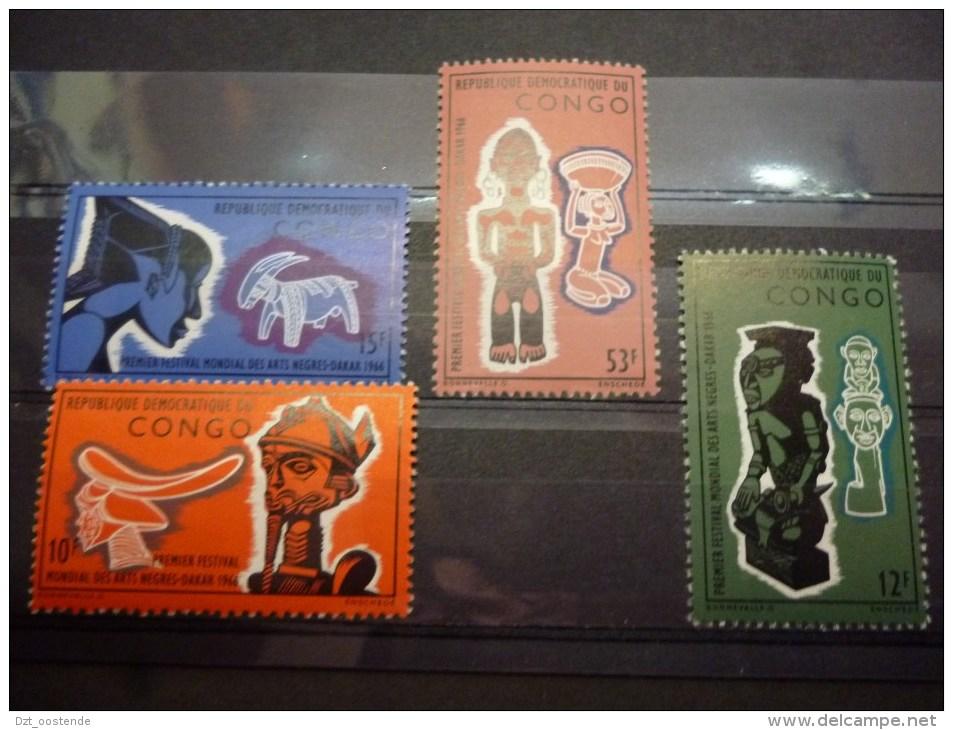 REP.DEM.DE CONGO 613/616  Xx ( COB ) COTE: 2.10 EURO  ( A ) - République Démocratique Du Congo (1964-71)