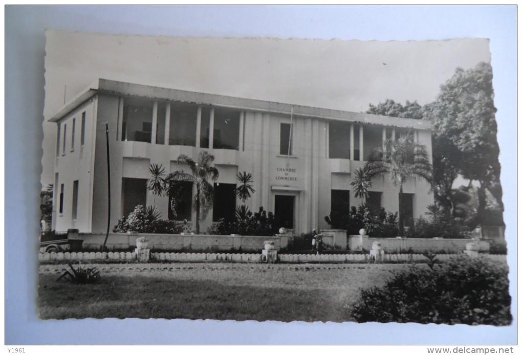 CPA GUINEE FRANçAISE CONAKRY. Chambre De Commerce. - Guinée Française