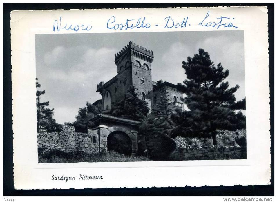 SARDEGNA Pittoresca . Nuovo Castello Della Famiglia Lostia - ITALIA - Italie