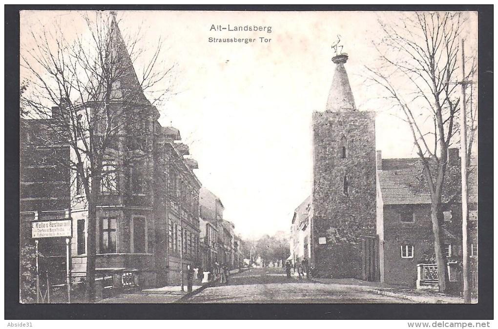 = ALT LANDSBERG - Straussberger Tor - Altlandsberg