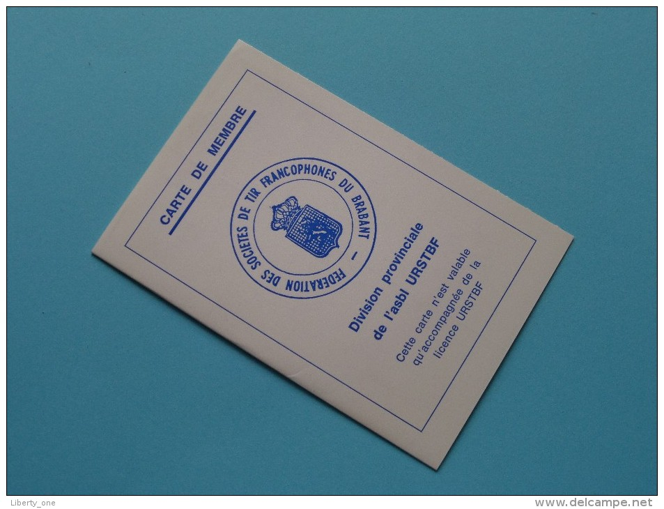 U.R.S.T.B. - K.V.B.S.V. Licence / Vergunning / Lidkaarten Etc... LOT / Anno 1965 Etc.... ( Zie Foto´s Details) ! - Organizaciones