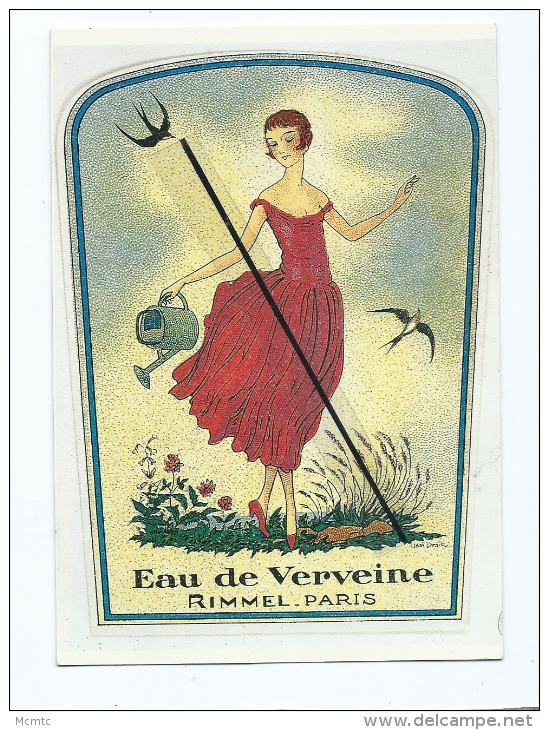 CPM : Eau De Verveine - Rimmel - Paris - Parfum & Cosmetica