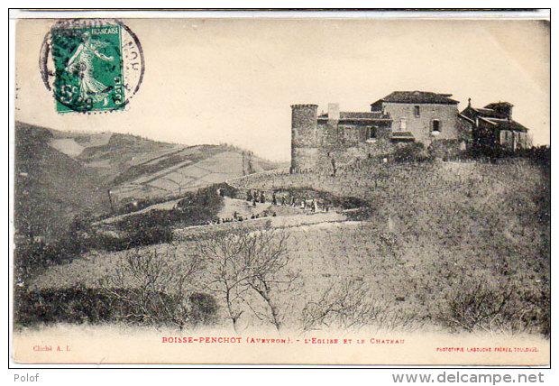 BOISSE-PENCHOT - L' Eglise Et Le Chateau   (85227) - France