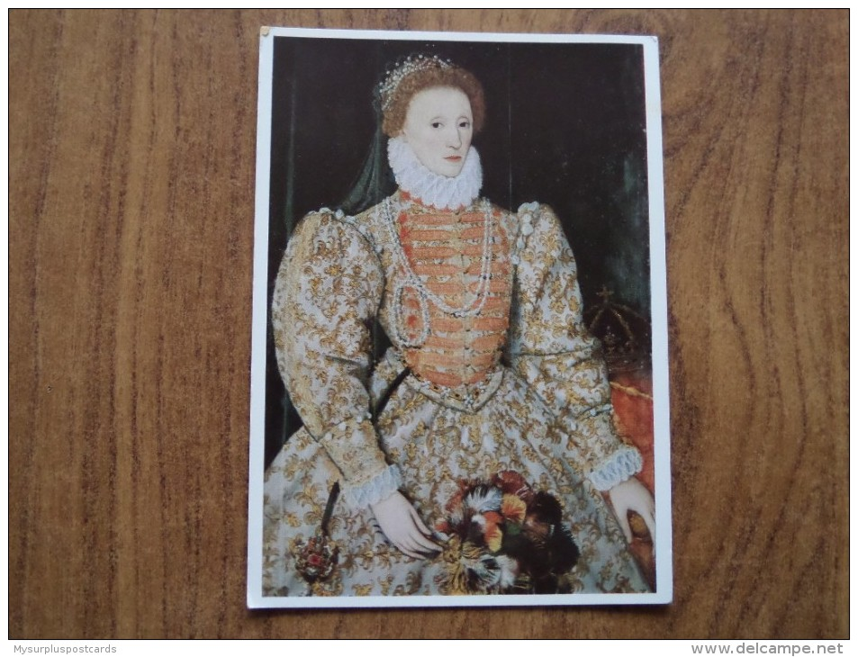 51033 ROYALTY:  Queen Elizabeth I  (1533-1603) By An Unknown Artist. - Royal Families