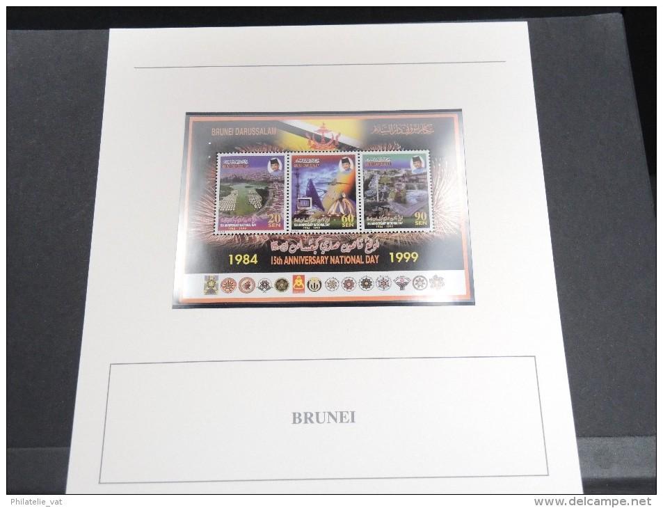 BRUNEI - Bloc Luxe Avec Texte Explicatif - Belle Qualité - À Voir -  N° 11521 - Brunei (1984-...)