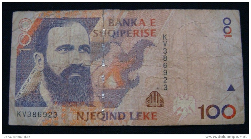 ALBANIA 100 LEK 1996 VF, SERIAL# KV - 386923 - Albanien