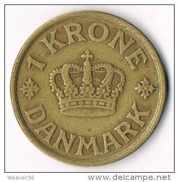 Denmark 1925 1 Krone - Denmark