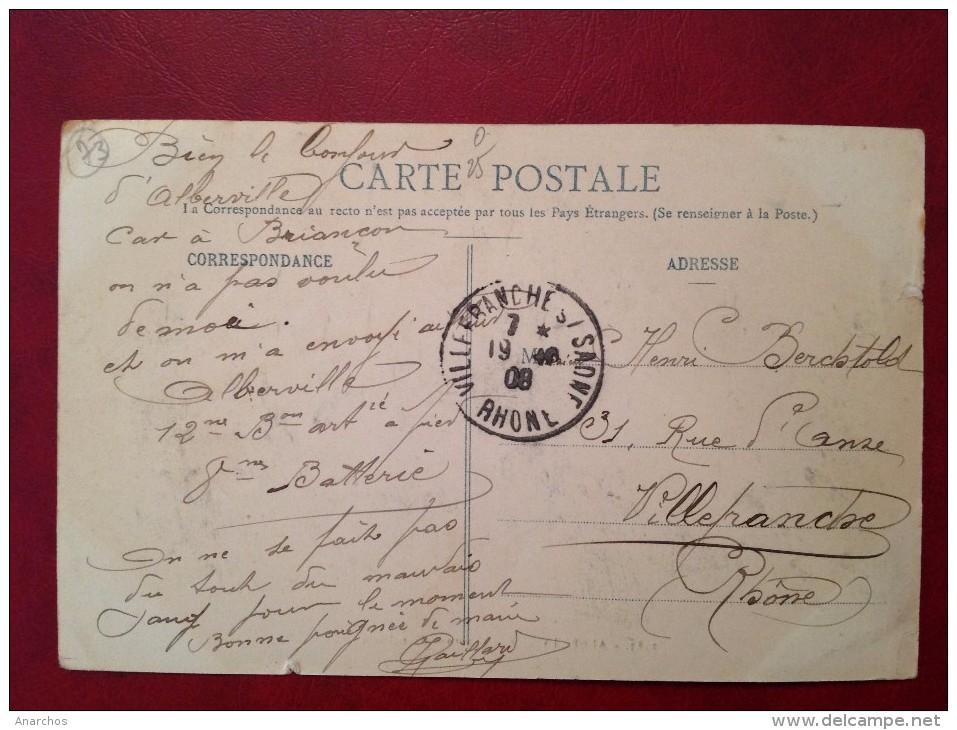 73 Savoie Cpa ALBERTVILLE Casernes D´Artillerie - Albertville