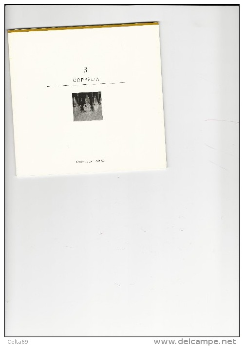 Livret Ballet Coppélia Maguy Marin  Mai 1993 - Andere Sammlungen