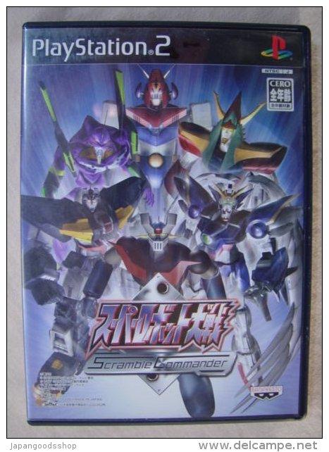 PS2 Japanese : Super Robot Taisen Scramble Commander - Sony PlayStation