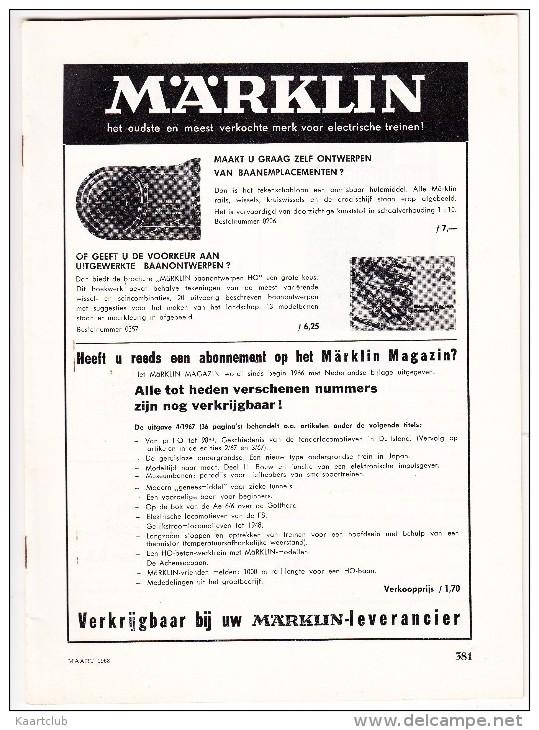 ´MÄRKLIN'  Catalogus - Maart 1968 - The Netherlands