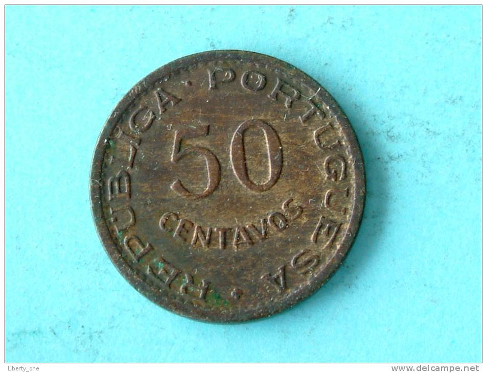 1957 - 50 CENTAVOS / KM 81 ( Uncleaned - For Grade, Please See Photo ) !! - Mozambique