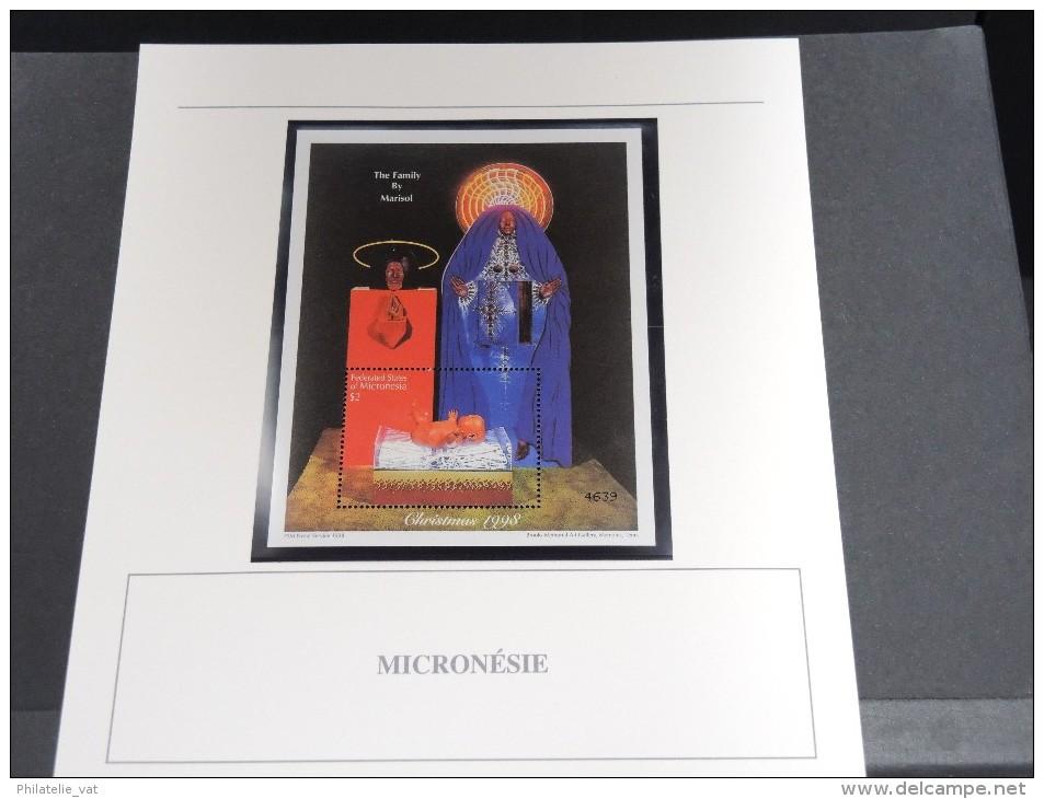 MICRONESIE - Bloc Luxe Avec Texte Explicatif - Belle Qualité - À Voir -  N° 11653 - Micronésie