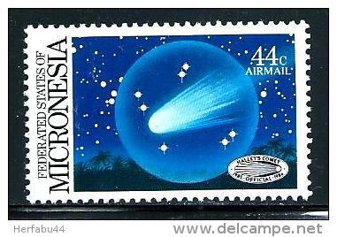 "Micronesia      ""Halley's Comet""       Set      SC#  C19   MNH** - Micronesia"