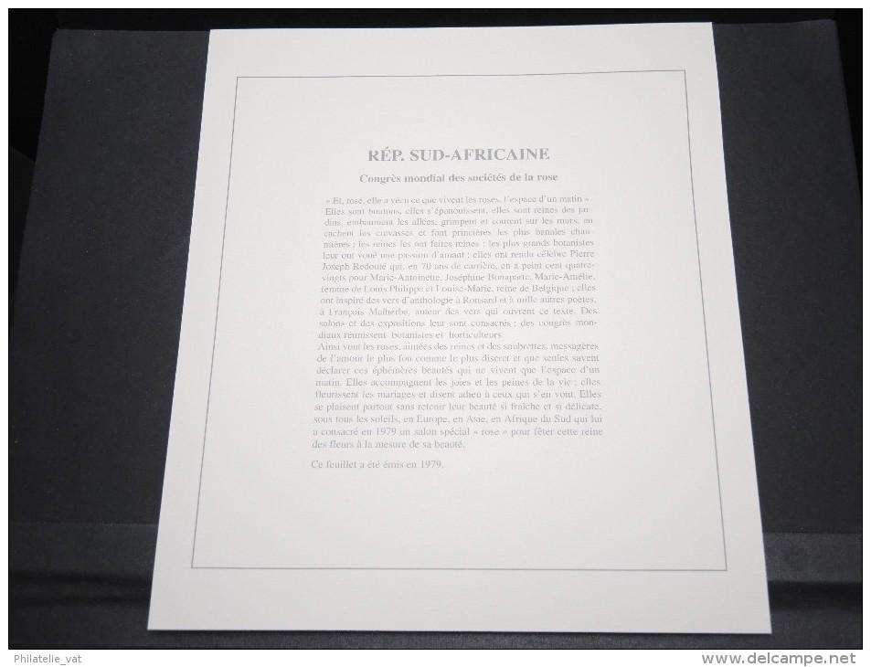 AFRIQUE DU SUD -  Bloc Luxe Avec Texte Explicatif - Belle Qualité - À Voir -  N° 11717 - Blocs-feuillets
