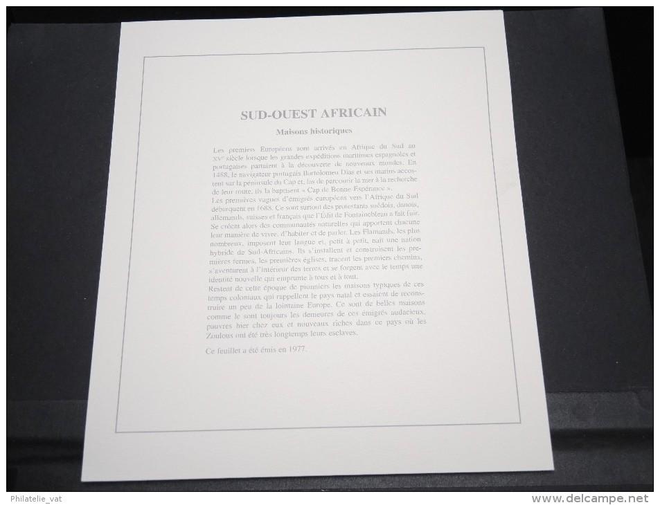ARFRIQUE DU SUD -  Bloc Luxe Avec Texte Explicatif - Belle Qualité - À Voir -  N° 11746 - Blocs-feuillets