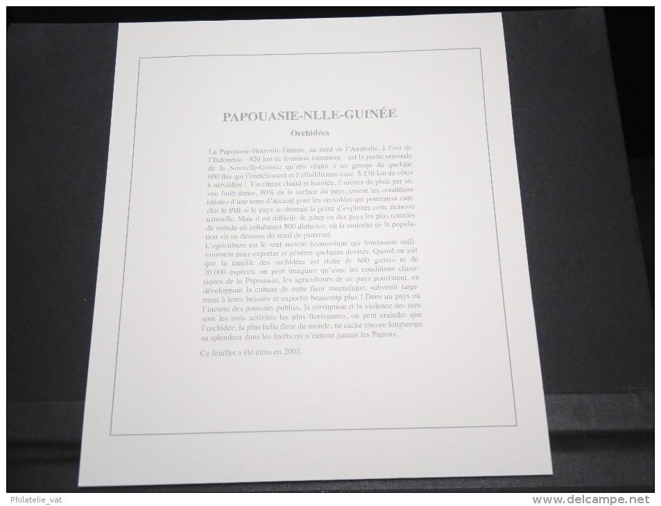 PAPOUASIE NOUVELLE GUINEE -  Bloc Luxe Avec Texte Explicatif - Belle Qualité - À Voir -  N° 11748 - Papouasie-Nouvelle-Guinée