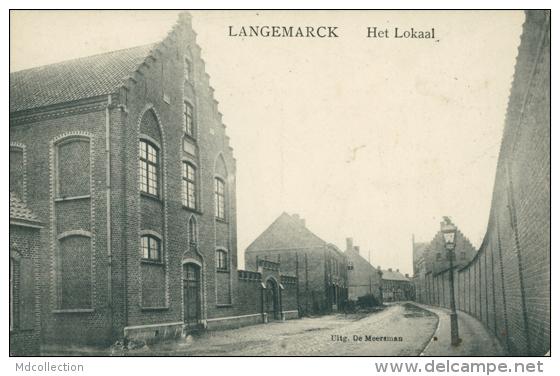 BE LANGEMARK POELKAPELLE / Het Lokaal / - Langemark-Poelkapelle