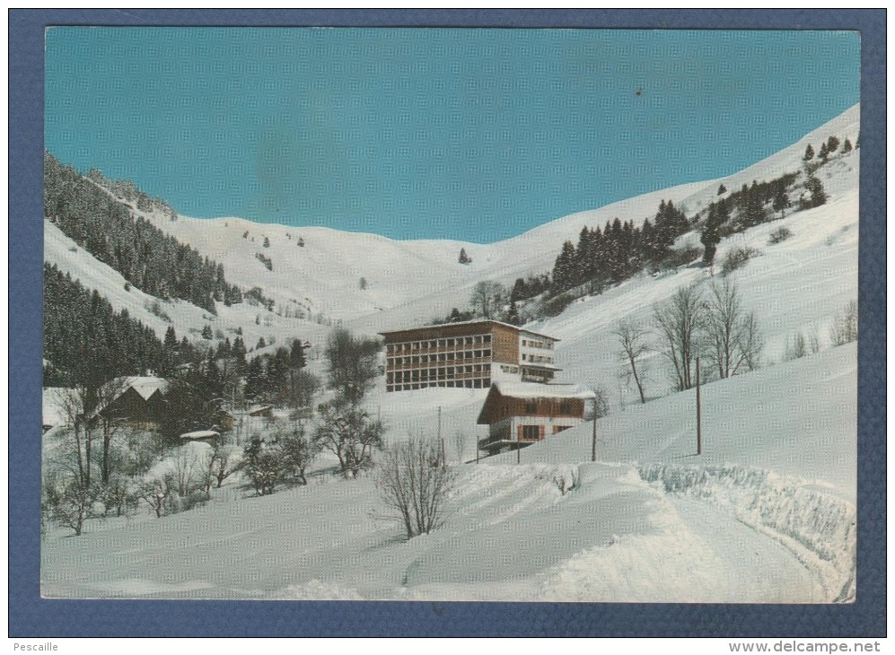 74 HAUTE SAVOIE - CP MONTMIN - CHALET MON BOIS ET COL DE L'HAULT - EDITIONS G. MOUCHET N° 154 - CIRCULEE EN 1974 - Other Municipalities