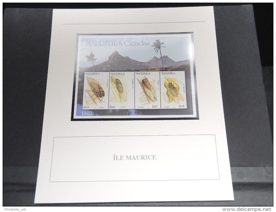 ILES MAURICE - Bloc Luxe Avec Texte Explicatif - Belle Qualité - À Voir -  N° 11798 - Maurice (1968-...)