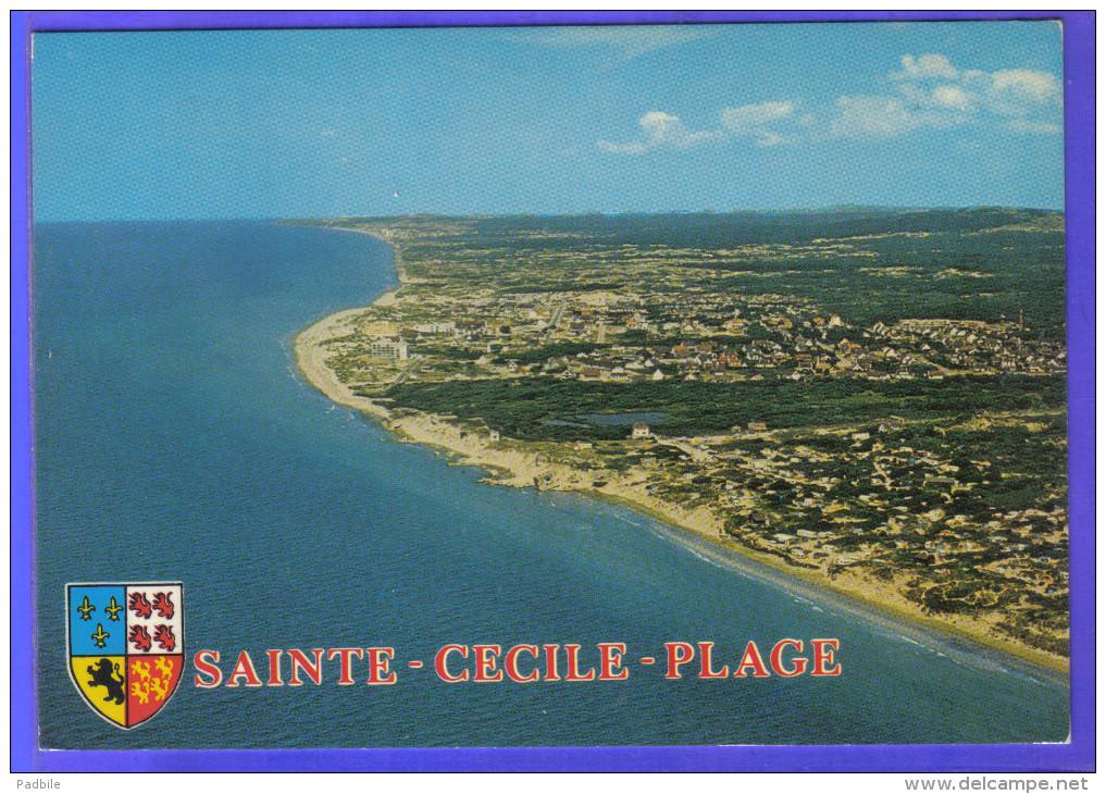 Carte Postale 62. Sainte-Cécile Vue D'avion  Trés Beau Plan - Autres Communes