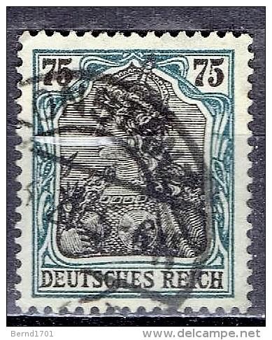 Deutsches Reich - Mi-Nr 104 Gestempelt / Used  (B1181) - Gebraucht