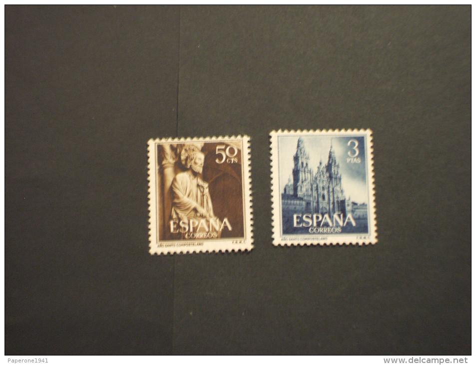 SPAGNA - 1954 ANNO SANTO 2 Valori  - NUOVI(++) - 1850-68 Kingdom: Isabella II