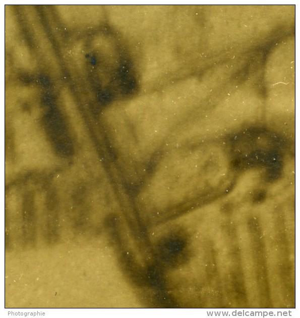 France WWI Front De L'Aisne Trench Map 53B Reconnaissance Aerienne Ancienne Photo 1917 - War, Military