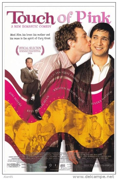 'Touch Of Pink' Gay Interest Movie C2000 Advertisement Card - Cinema Advertisement