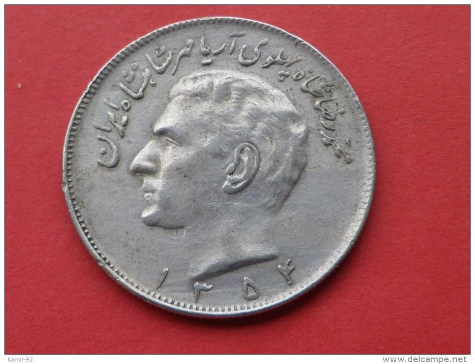 Iran   20 Ryals 1975             -SH  1354-    KM #1181      TTB - Iran