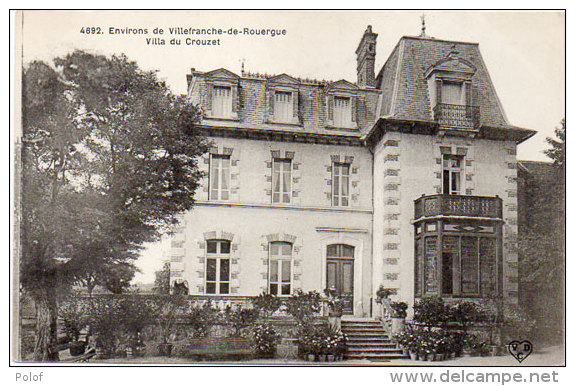 Environs De VILLEFRANCHE DE ROUERGUE - Villa Du Crouzet  (85429) - Non Classés