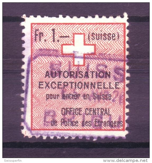 876 - Fiskalmarke Der Eidgenossenschaft - Fiscaux
