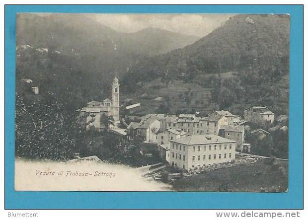 CPA Veduta Ai Frabosa - SOTTANA - ITALIE ITALIA - Italia