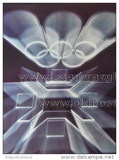 Sarajevo Olympic Winter Games 1984 100x70 Cm 39x27 Inch Mark ORIGINAL - Manifesti