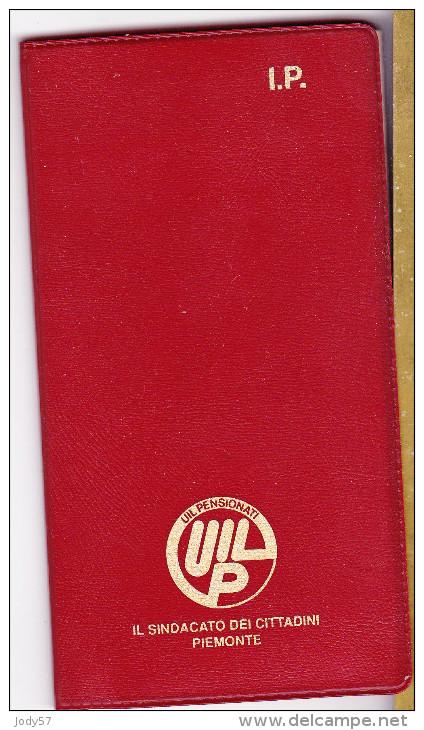 CALENDARIO TASCABILE AGENDINA - UILP 1993 - Formato Piccolo : 1991-00
