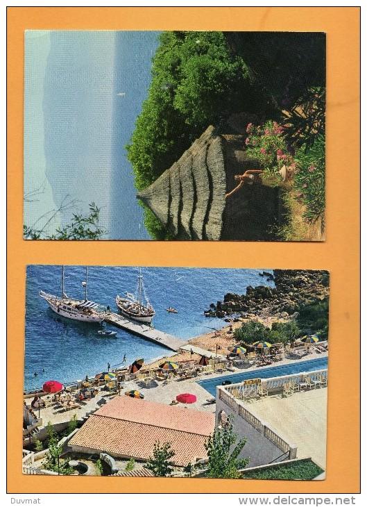 Grece Helios Et Aighion   Lot De 2 Cartes Postales Du Club Med Club Mediterranée - Grèce