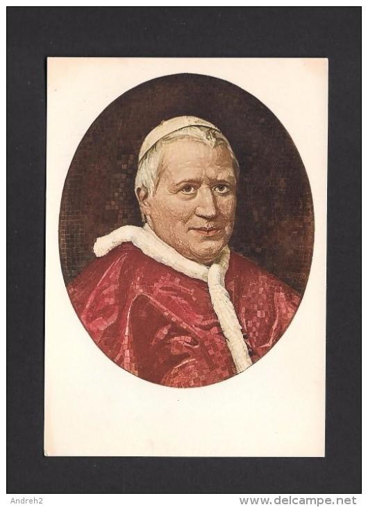 RELIGIONS - PAPES - PORTRAIT DE SA SAINTETÉ LE PAPE PIE IX - POPE PIE IX - PAR STUDIO DEL MOSAICO - Papes