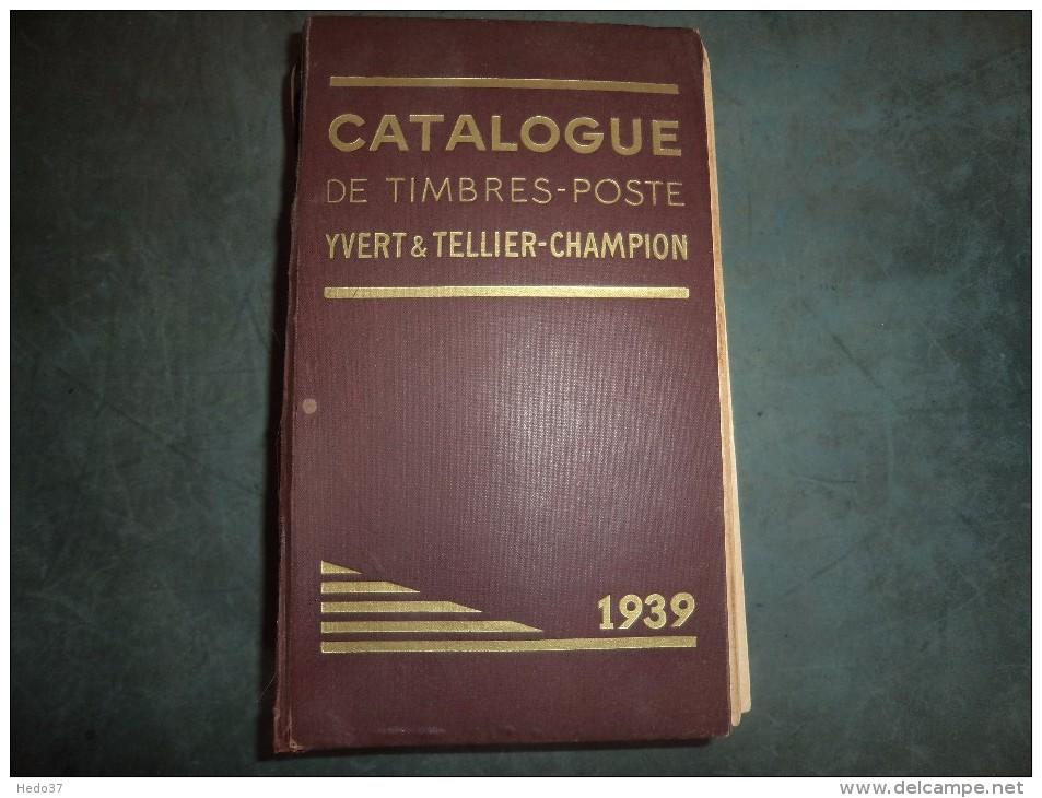 Yvert Et Tellier Monde De 1939 - 1392 Pages - France