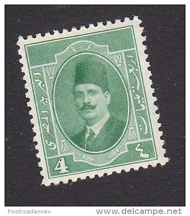 Egypt, Scott #95, Mint Hinged, King Fuad, Issued 1923 - Ägypten