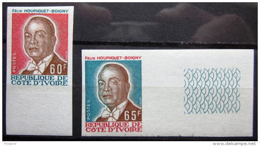 COTE D'IVOIRE               N° 414/415     Non Dentelé                  NEUF** - Côte D'Ivoire (1960-...)